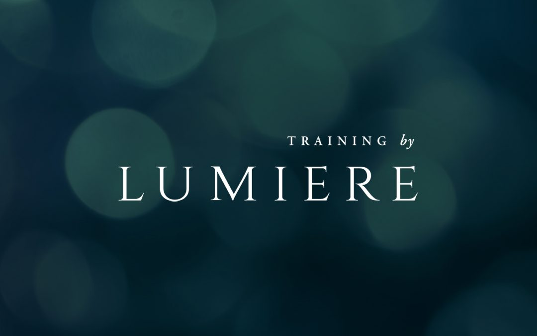 Training byLUMIERE and #60secs2changeyourlife